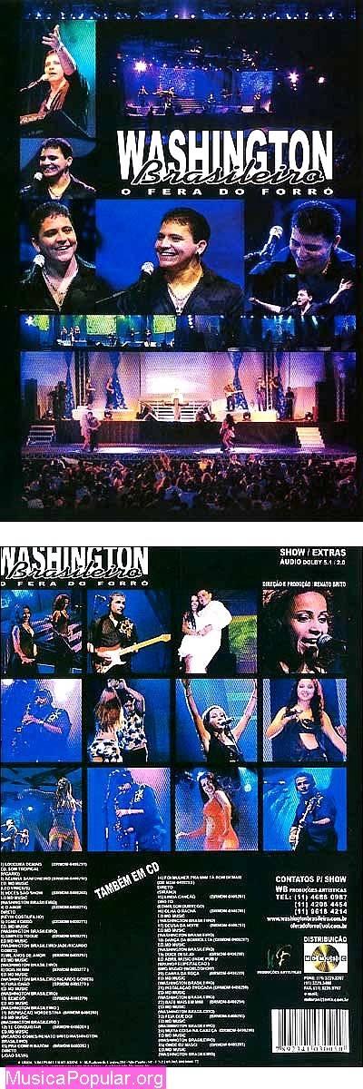 DVD - Washington Brasileiro Show ao Vivo at MPO
